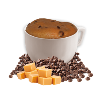 Chocolatey Caramel Flavored Mug Cake